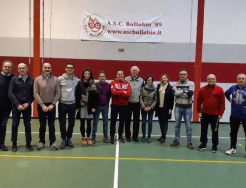 ASC BALLABIO, CARLO BRIVIO NUOVO PRESIDENTE